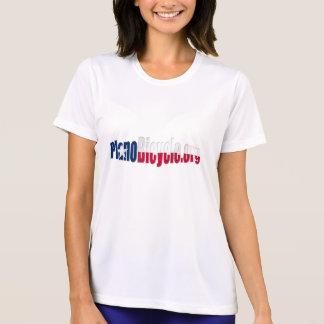 Plano Cycling Basic Texas flag logo Tee Shirt