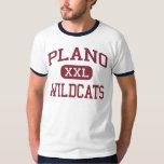 Plano - gatos monteses - mayor - Plano Tejas Remera