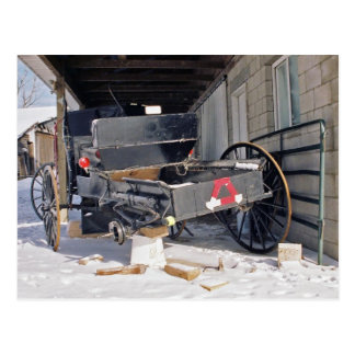 Plano-Postal de Amish Tarjetas Postales
