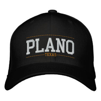 Plano Texas USA Embroidered Hats