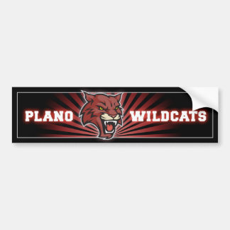 Plano Wildcats Bumper Sticker