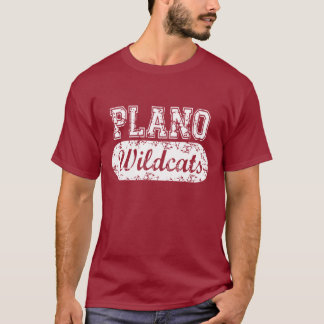 Plano Wildcats Distress Capsule Tee