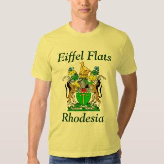 Planos de Eiffel, camiseta de Rhodesia Playeras