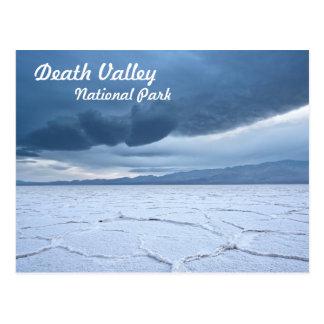 Planos de la sal en Death Valley Tarjeta Postal