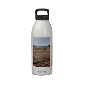 Planos de marea botellas de beber