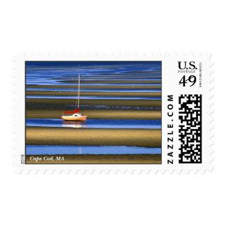 Planos de marea del cabo sello postal