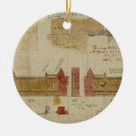 Plans and elevations for The Red House, Bexley Hea Ceramic Ornament