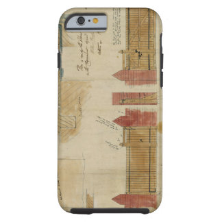 Plans and elevations for The Red House, Bexley Hea Tough iPhone 6 Case