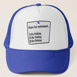 Plans for retirement (fishing) cap