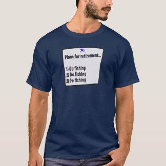Plans for retirement (fishing) shirt