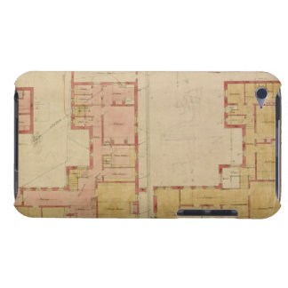 Plans for the Red House Bexley Heath 1859 pen a iPod Case-Mate Case