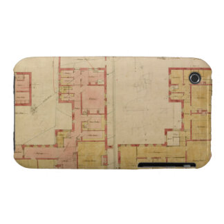 Plans for the Red House, Bexley Heath, 1859 (pen a iPhone 3 Cover