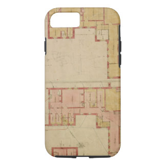 Plans for the Red House, Bexley Heath, 1859 (pen a iPhone 8/7 Case