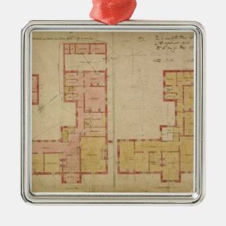 Plans for the Red House, Bexley Heath, 1859 (pen a Metal Ornament