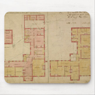 Plans for the Red House, Bexley Heath, 1859 (pen a Mouse Pad