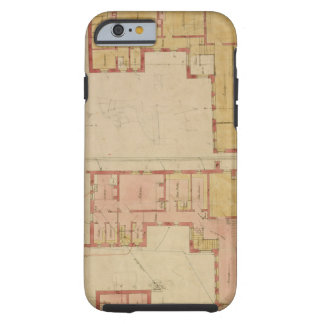 Plans for the Red House, Bexley Heath, 1859 (pen a Tough iPhone 6 Case