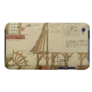 Plans for the Red House Bexley Heath pen and ink iPod Touch Cover