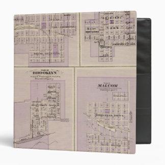 Plans of Brooklyn, Grinnell Vinyl Binder