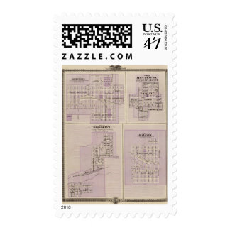 Plans of Brooklyn, Grinnell Postage Stamp