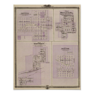 Plans of Brooklyn, Grinnell Poster