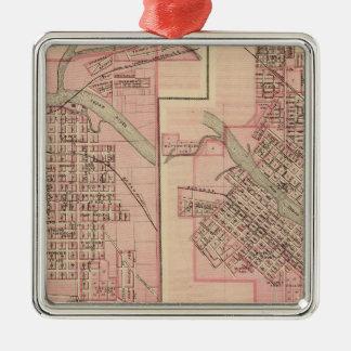 Plans of Cedar Falls 2 Metal Ornament