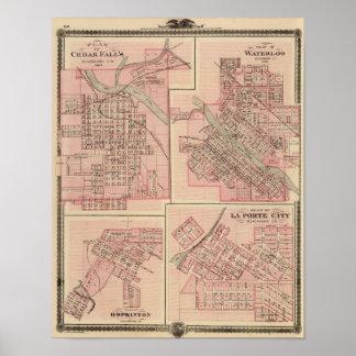 Plans of Cedar Falls 2 Posters