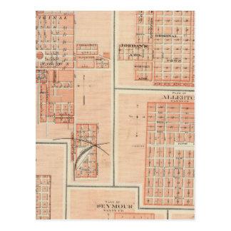 Plans of Centerville, Leon, Moulton Postcard