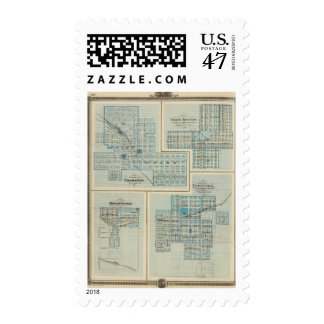 Plans of Chariton, Grand Junction Postage