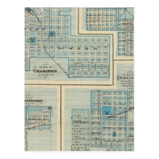 Plans of Chariton, Grand Junction Postcard