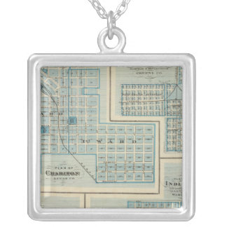 Plans of Chariton, Grand Junction Square Pendant Necklace