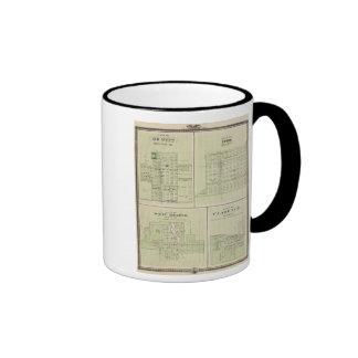 Plans of DeWitt, Tipton Ringer Mug