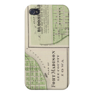 Plans of Fort Madison Cover For iPhone 4
