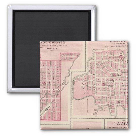Plans of Glenwood, Denison, Hastings Magnet
