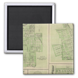 Plans of Maquoketa, Bellevue, Princeton Magnet