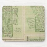 Plans of Maquoketa, Bellevue, Princeton Mouse Pad