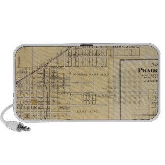 Plans of Newton, Prairie City Notebook Speaker