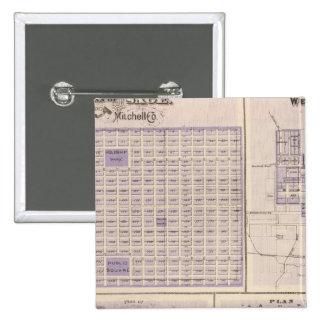 Plans of Osage, West Union Pinback Button