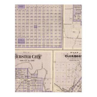 Plans of Osage, West Union Postcard