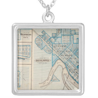 Plans of Ottumwa Russell Scranton Personalized Necklace