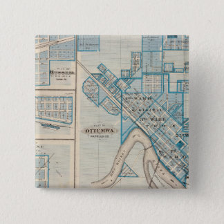 Plans of Ottumwa, Russell, Scranton Pinback Button