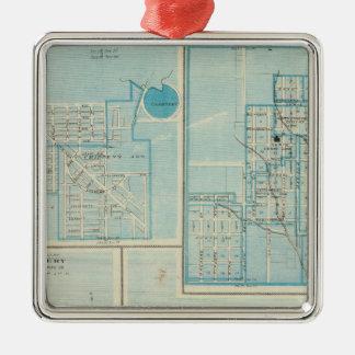 Plans of Shenandoah, Bedford Metal Ornament