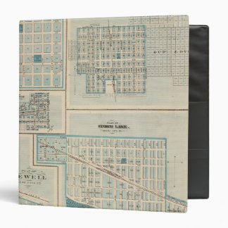 Plans of Sioux Rapids, Onawa, Storm Lake, Newell Binder
