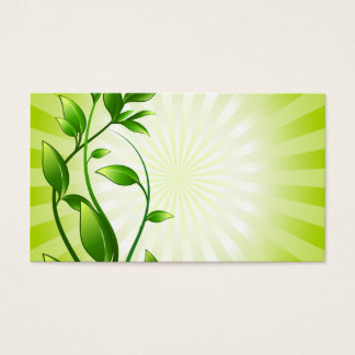 plant-158798 CAUSES ENVIROMENT CARING MOTIVATIONAL Business Card