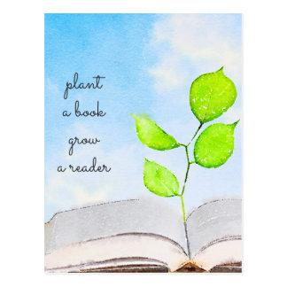 Plant a Book Postcard