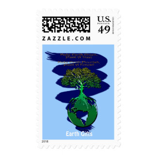 PLANT A FOREST Collection Postage Stamp
