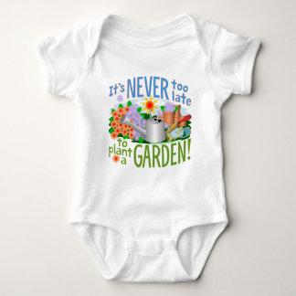 Plant a Garden Baby Bodysuit
