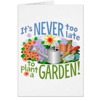 Plant a Garden - Customized Card
