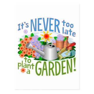 Plant a Garden - Customized Postcard