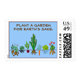 Plant a Garden for Earth's Sake. Postage