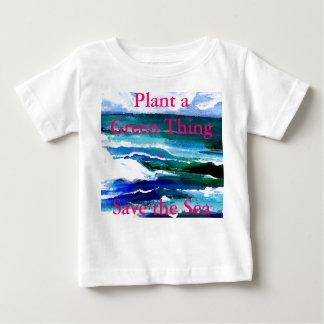 Plant a Green Thing - Save the Sea Tshirts